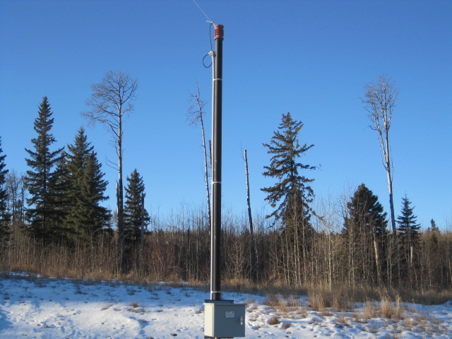 8 inch x 100 foot flare stack Pyriamid M-8904 (9)